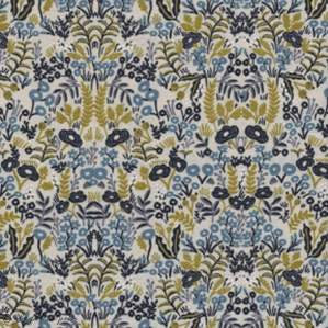 "Tissu coton motif géométrique ""Menagerie"" - Oekotex ® - Cotton and steel ® Art Gallery Fabrics ® - 1"