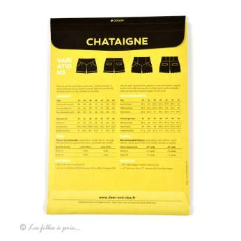 Patron short CHATAIGNE - Deer&Doe DEER and DOE ® - 8