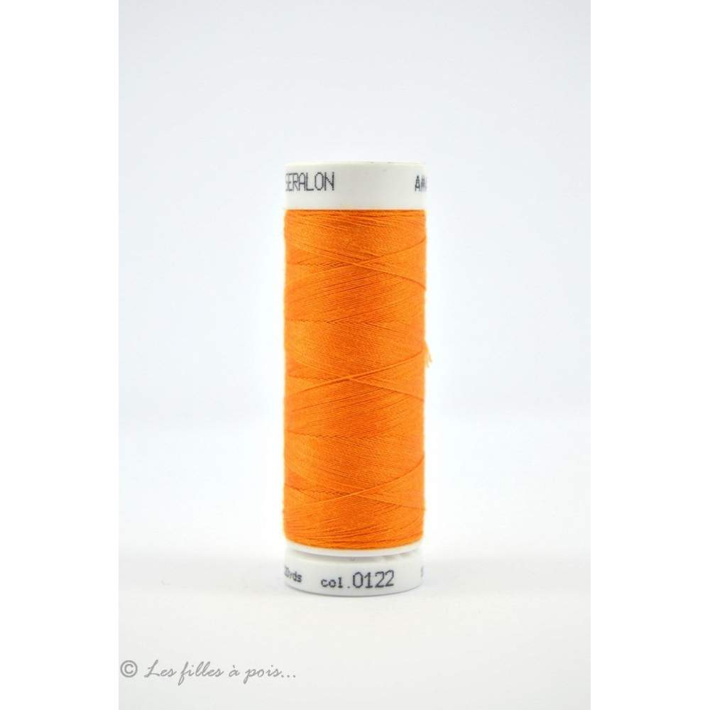 Fil à coudre Mettler ® Seralon 200m - coloris orange - 0122 METTLER ® - 1