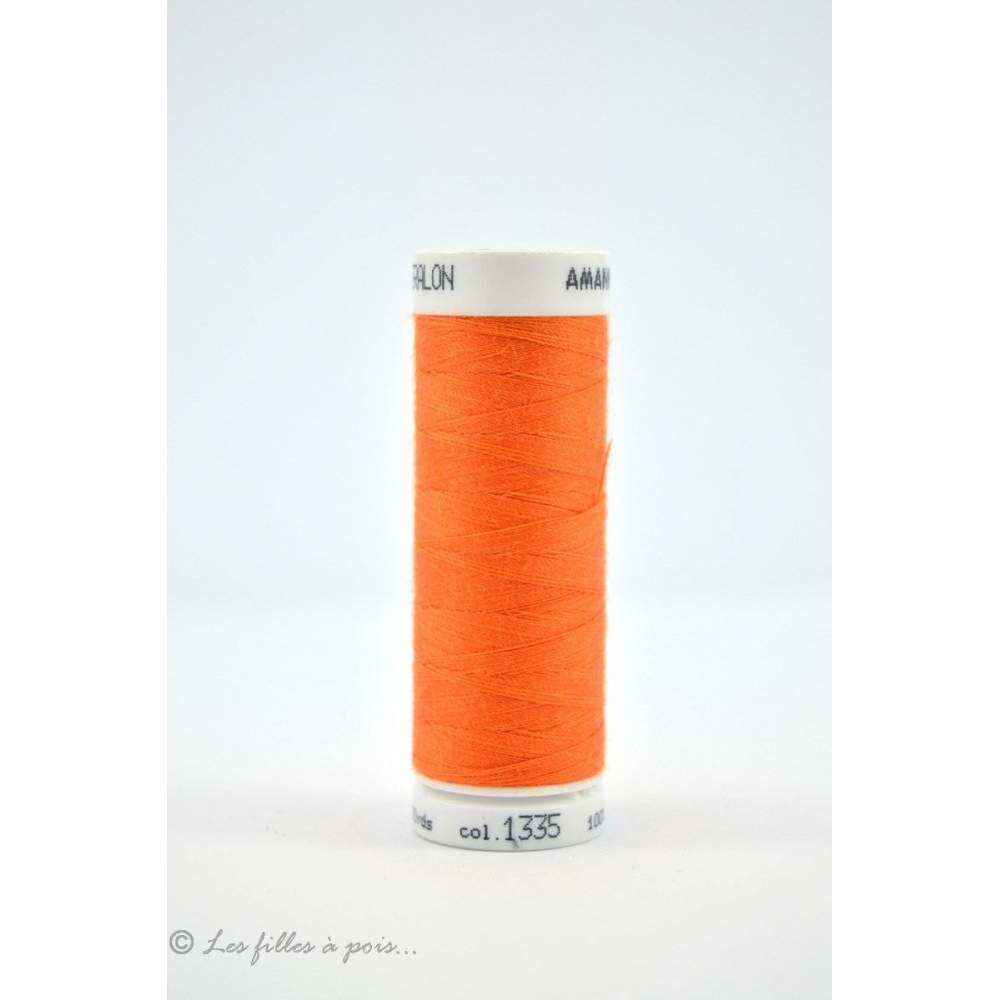 Fil à coudre Mettler ® Seralon 200m - coloris orange - 1335 METTLER ® - 1