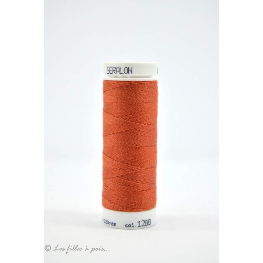 Fil à coudre Mettler ® Seralon 200m - coloris orange - 1288 METTLER ® - 1